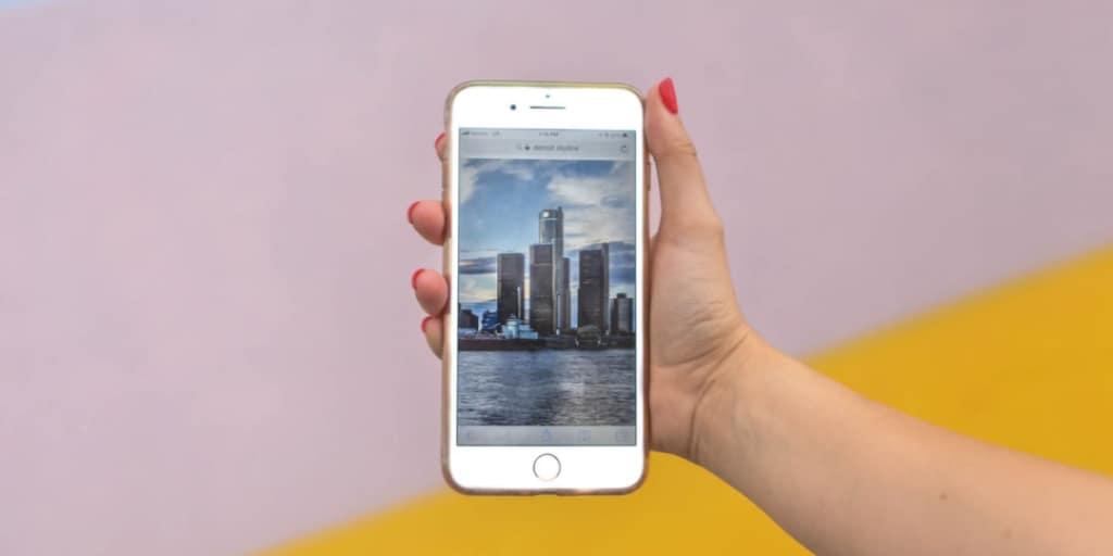 sito web ottimizzato per il mobile