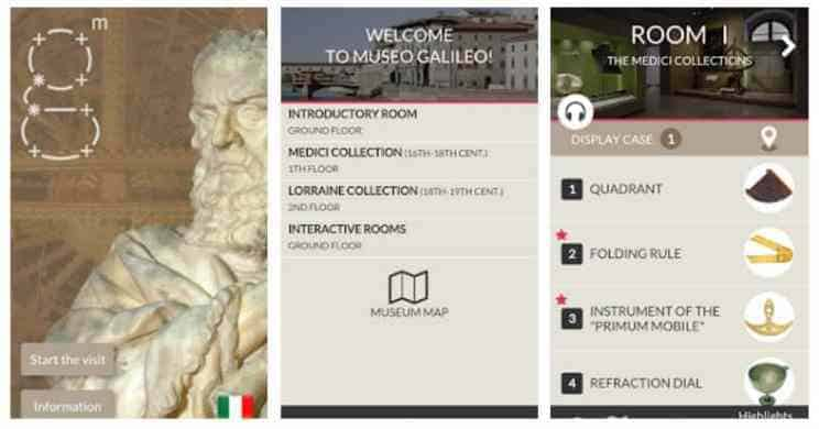 App mobile case history di Telemacoapp-museo-galileo-android-ios